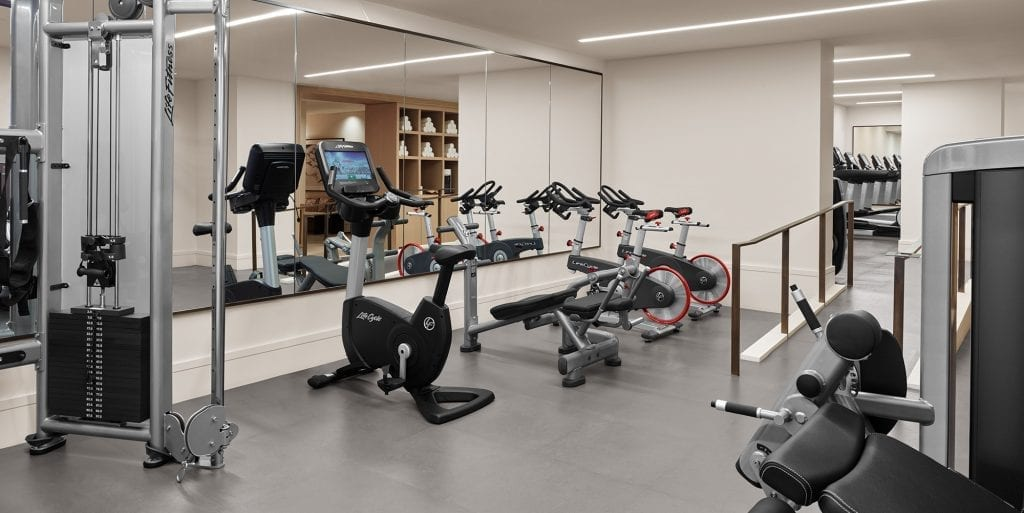 Gym At The New York EDITION