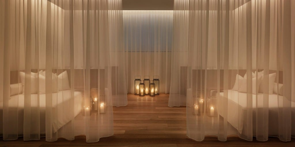 Miami Beach EDITION Spa Relaxation Room