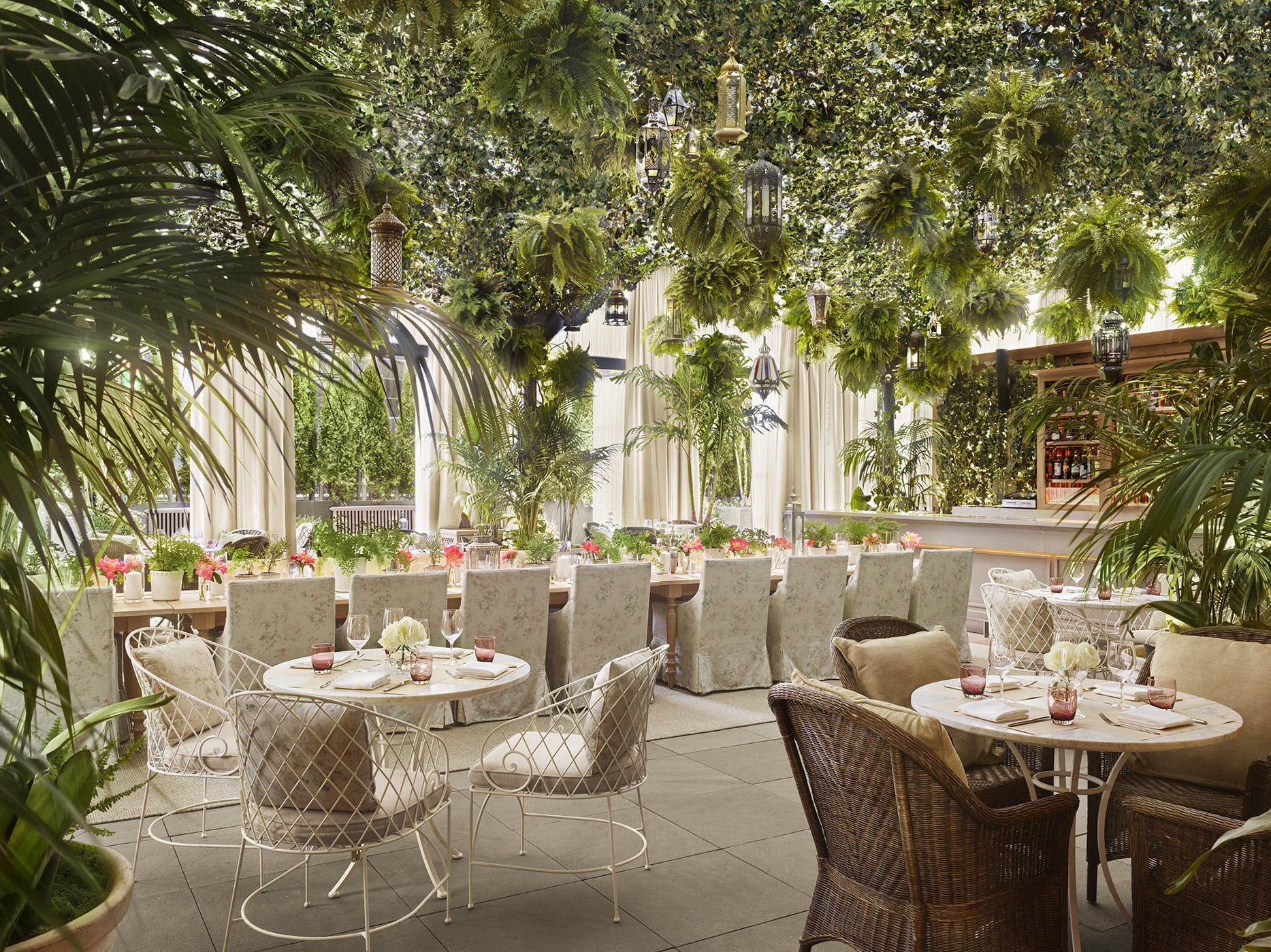 The Terrace And Outdoor Gardens Edition Hotels